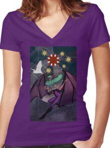 Morrigan Women's Fitted V-Neck T-Shirt