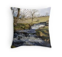 Streams in the Yorkshire Dales Throw Pillow