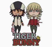 TIGER&BUNNY chibi Kids Tee