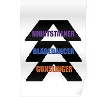 Destiny- hunter emblem Poster