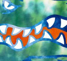 Gators Tie Dye Logo Sticker