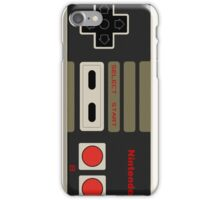 Nintendo old school joystick iPhone Case/Skin