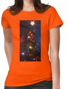 Xmas tree Womens Fitted T-Shirt