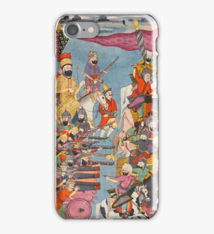 Mirza Mahdi Khan Astarabadi, the Jahan-gusha-ye Nadiri, North India, dated  iPhone Case/Skin
