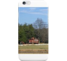 Rustic Old Rail Car  iPhone Case/Skin