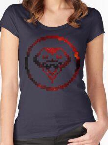 My Chemical Romance - 8-Bit Kobra Kid Logo (Space) Women's Fitted Scoop T-Shirt