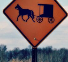 Amish Country Sticker