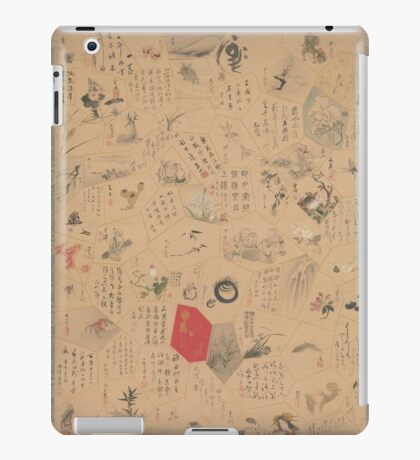 Miscellaneous Paintings and Calligraphy for the Third Year of the Bunsei Era,  iPad Case/Skin