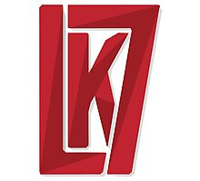 Kyle Lowry Unofficial KL7 Logo Photographic Print