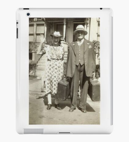 """""""My Great Grandparents, The Halls""""... prints and products iPad Case/Skin"""