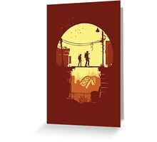 The Last of Us Plankin' Greeting Card