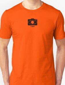 I shoot - black Unisex T-Shirt