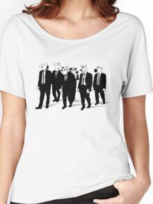 RESERVOIR HOUNDS (b&w) Women's Relaxed Fit T-Shirt
