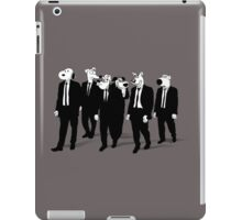 RESERVOIR HOUNDS (b&w) iPad Case/Skin