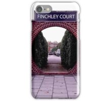 Pavement Squares & Red Brick  iPhone Case/Skin