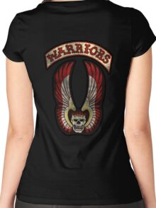 Warriors inspired design Women's Fitted Scoop T-Shirt
