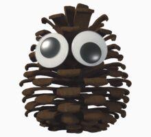 Googly-Eyed Pinecone Kids Tee