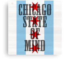 Chicago State of Mind Canvas Print