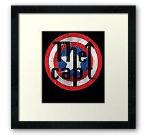 The Capt Captain America: Civil War Movie Quote Framed Print