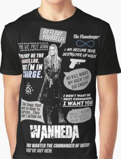Wanheda - Clarke Griffin - Clexa - The 100 Graphic T-Shirt
