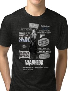 Wanheda - Clarke Griffin - Clexa - The 100 Tri-blend T-Shirt