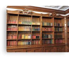 Bletchley Books Canvas Print