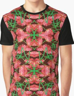 Floral Collage Pattern Graphic T-Shirt