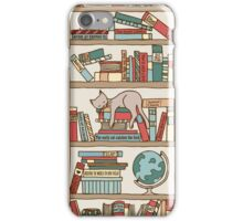 Bookshelf No.2 iPhone Case/Skin