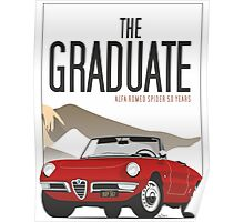 Alfa Romeo Duetto from the Graduate Poster