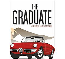Alfa Romeo Duetto from the Graduate Photographic Print