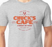 Chuck's Cafe (aged look) Unisex T-Shirt