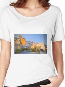 Palácio da Pena. Sintra Women's Relaxed Fit T-Shirt