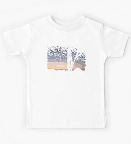 Sunset Landscape Kids Tee