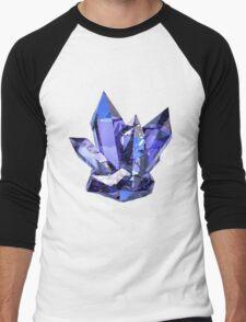 Blue Crystal Men's Baseball ¾ T-Shirt