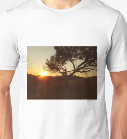 Sand Dune Sunset Unisex T-Shirt