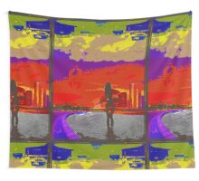 Below the Never. Wall Tapestry