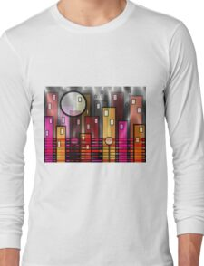 Psychedelic City Long Sleeve T-Shirt