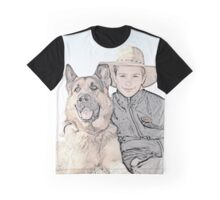 Boy and man's Best Friend... (Coloured) Graphic T-Shirt