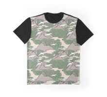 Birds gliding over mountains Graphic T-Shirt