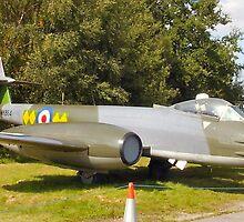 RAF Gloster Meteor, F8. by Woodie