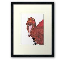 Dino Supreme Framed Print