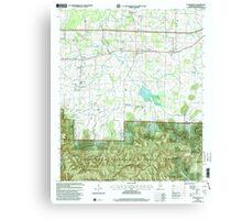 USGS TOPO Map Alabama AL Landersville 304361 2000 24000 Canvas Print