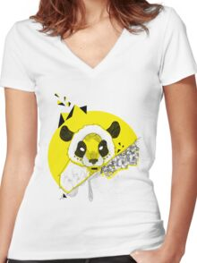 Mr. Midi Women's Fitted V-Neck T-Shirt