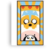 Adventure Time Totem Boys Canvas Print