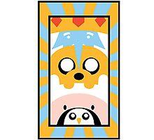 Adventure Time Totem Boys Photographic Print