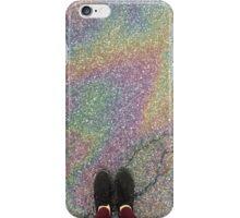 oily rainbow iPhone Case/Skin