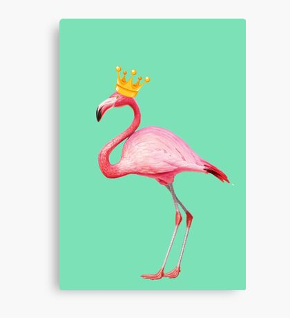 Flamingo Queen 2 Canvas Print