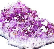 Amethyst Crystal by SuperFluff