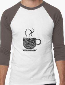 Black Coffee Men's Baseball ¾ T-Shirt