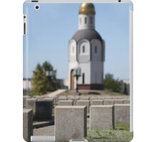 tombstones unknown soldiers  iPad Case/Skin